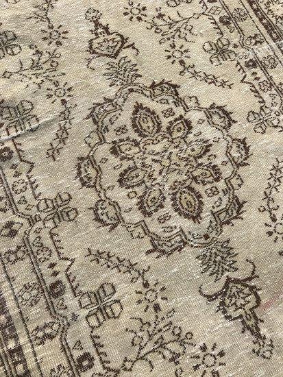 Beige overdyed handmade rug istanbul carpet treniq 1 1491562606883