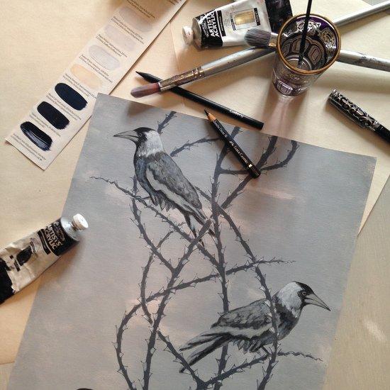 Crow patrol velvetthrow lux   bloom treniq 5 1491566890678