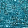 Turquoise blue handmade turkish rug istanbul carpet treniq 1 1491568013295