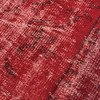 Red overdyed handmade rug   vintage turkish red carpet istanbul carpet treniq 1 1491576168236