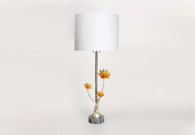 Table lamp   lotus collection home n earth treniq 1