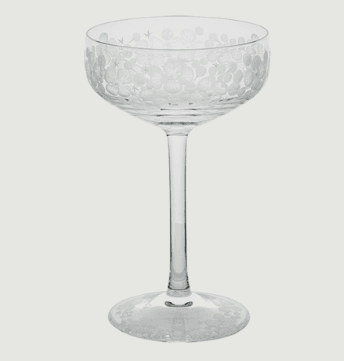 Isadora crystal champagne saucer   clear rachel bates interiors ltd treniq 1 1491837824586