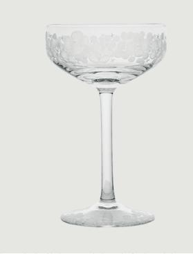 Isadora crystal champagne saucer   clear rachel bates interiors ltd treniq 1 1491837826118