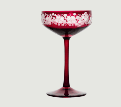 Isadora crystal champagne saucer   fuschsia  rachel bates interiors ltd treniq 1 1491838341718