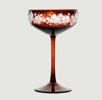 Isadora crystal champagne saucer   mahogany rachel bates interiors ltd treniq 1 1491839983315