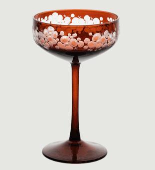Isadora crystal champagne saucer   mahogany rachel bates interiors ltd treniq 1 1491839987741