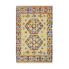Dual-Diamond-Cotton-Dhurrie_Yak-Carpet-_Treniq_1