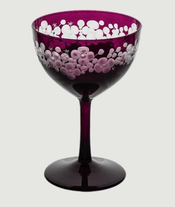 Cristobelle crystal champagne saucer   amethyst rachel bates interiors ltd treniq 1 1491913462400