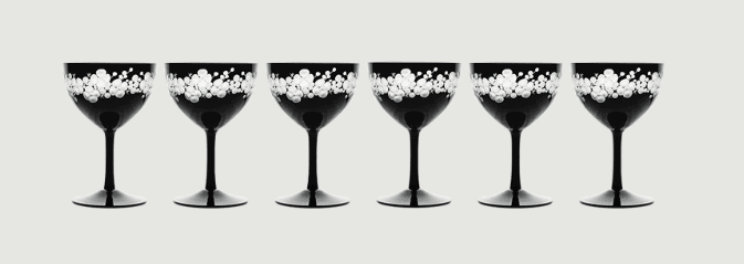 Cristobelle crystal champagne saucer   black rachel bates interiors ltd treniq 7 1491932760234