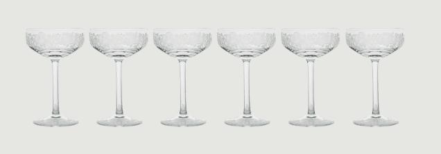 Isadora crystal champagne saucer   clear rachel bates interiors ltd treniq 8 1491997202528
