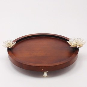 Round-Tray-Large-Lotus-Collection_Home-N-Earth_Treniq_0