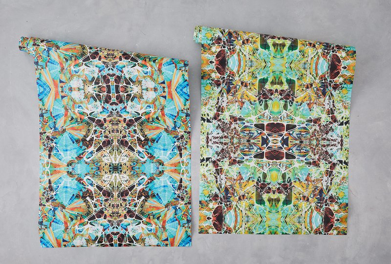 Kaleidoscope wallpaper summer designers atelier treniq 2 1492348709191