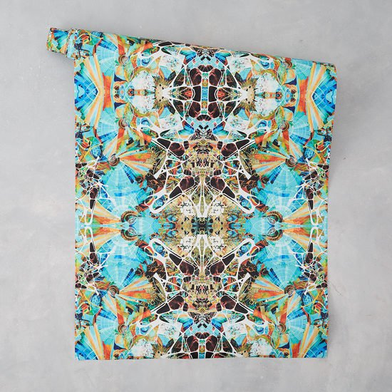 Kaleidoscope wallpaper summer designers atelier treniq 2 1492348729379