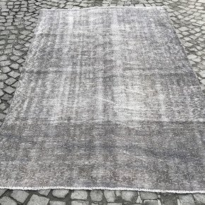 Grey-Over-Dyed-Handmade-Rug_Istanbul-Carpet_Treniq_0