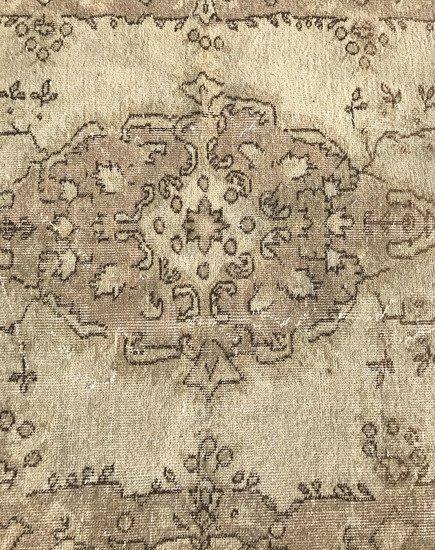 Beige cream overdyed handmade rug istanbul carpet treniq 1 1493210228906