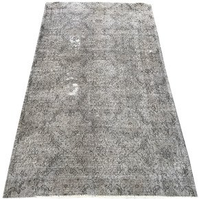 Grey-Overdyed-Handmade-Rug-Vintage-Turkish-Gray-Carpet_Istanbul-Carpet_Treniq_1