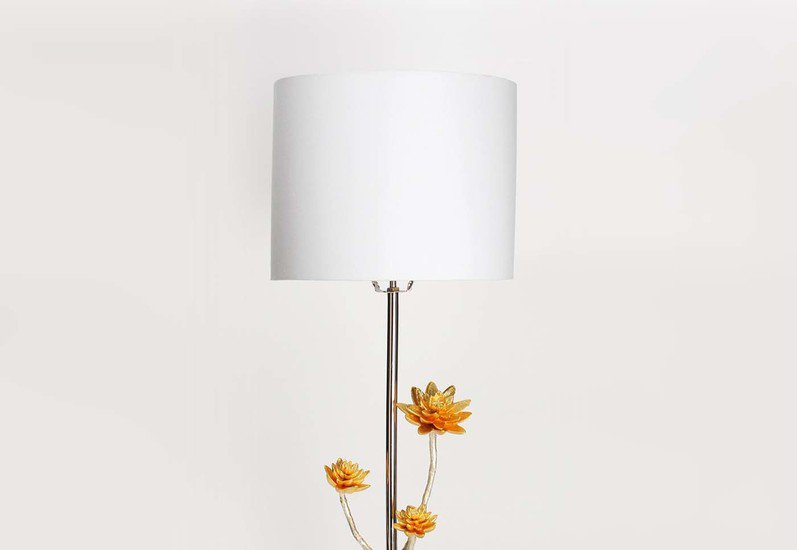 Table lamp   lotus collection home n earth treniq 2