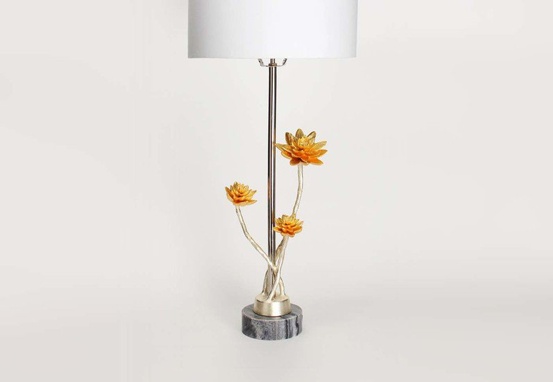Table lamp   lotus collection home n earth treniq 3