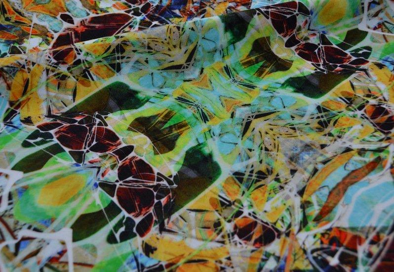 Kaleidoscope velvet spring fabric designer's atelier treniq 2 1494468772071