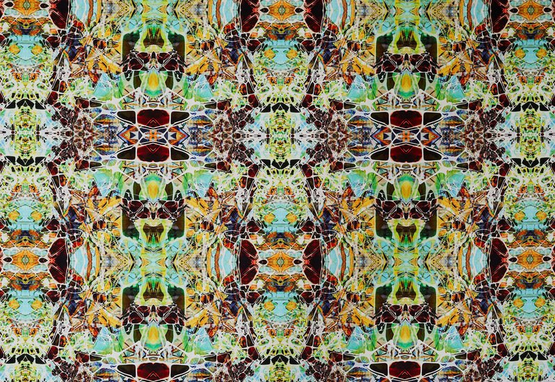 Kaleidoscope velvet spring fabric designer's atelier treniq 2 1494468980853
