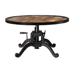 Heavy-Metal-Base-Round-Top-Crank-Table_Shakunt-Impex-Pvt.-Ltd._Treniq_0