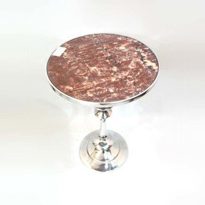 Round-Table-With-Brown-Marble-_Home-N-Earth_Treniq_0