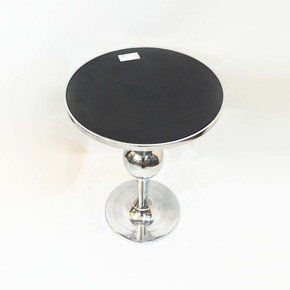 Kd-Aluminium-Table-With-Black-Marble_Home-N-Earth_Treniq_0