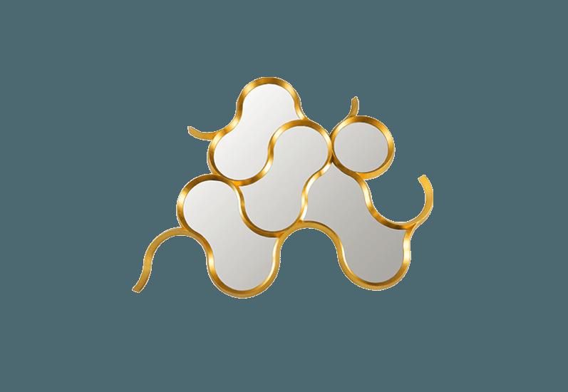 Cask gold mirror (big) bat eye treniq 1 1496394652935