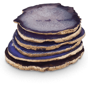 Agate-Coasters-Purple-_The-Pink-Elephant_Treniq_0
