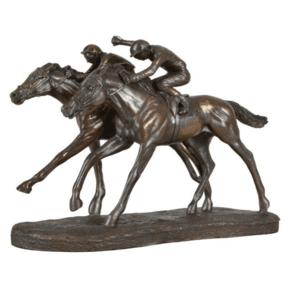 Racing-Horses-Sculpture_5mm-Design_Treniq_0