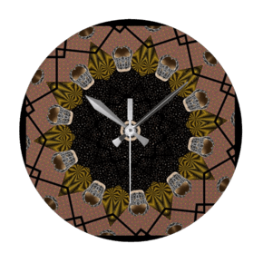 Shoe-Print-Design-Wall-Clock-Round_Beryl-Phala-Limited_Treniq_0