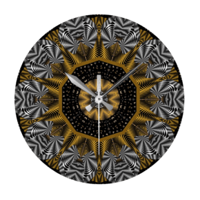 Cap-And-Shoe-Print-Design-Wall-Clock-Round_Beryl-Phala-Limited_Treniq_0