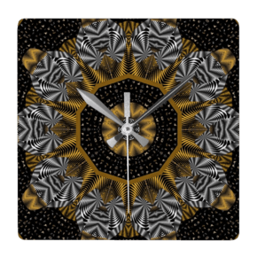 Cap-And-Shoe-Print-Design-Wall-Clock-Square_Beryl-Phala-Limited_Treniq_0