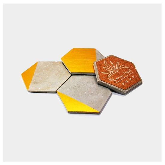 Hex. coaster. a karan desai design treniq 4 1497263881375