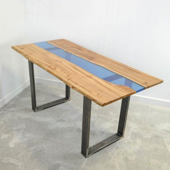 Resin river dining table frances bradley treniq 6 1497474436911