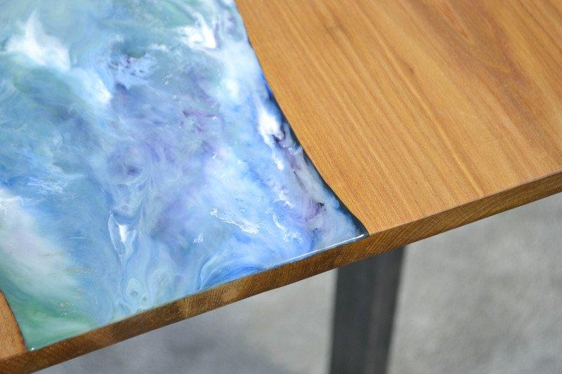 Resin art dining table frances bradley treniq 6 1497474870412