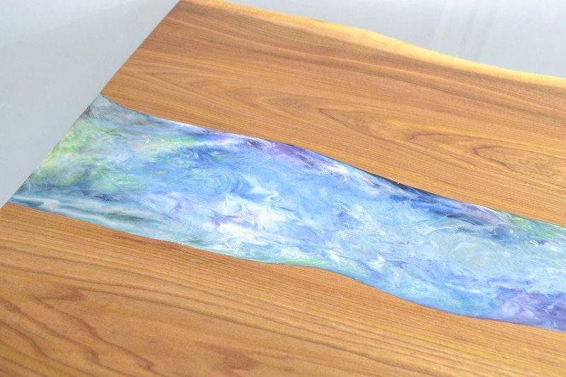 Resin art dining table frances bradley treniq 6 1497474953953