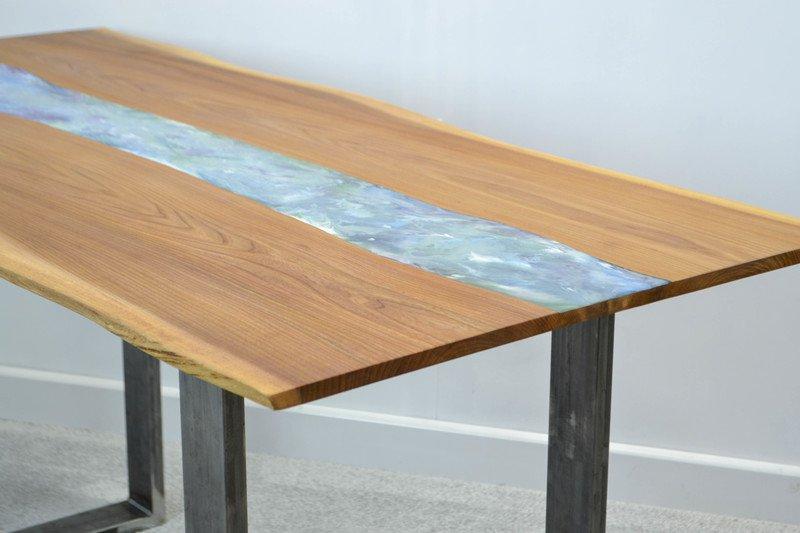 Resin art dining table frances bradley treniq 6 1497474998839