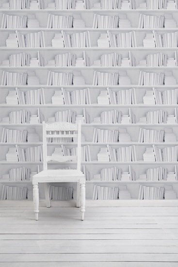 White bookshelf wallpaper mineheart treniq 1 1497552269677