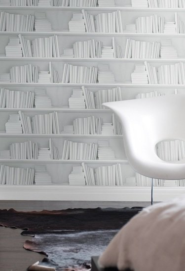 White bookshelf wallpaper mineheart treniq 1 1497552366237