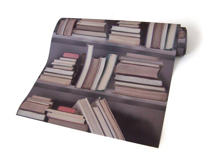 Vintage bookshelf wallpaper mineheart treniq 1 1497553668056
