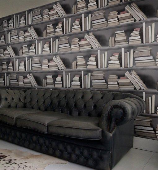 Vintage bookshelf wallpaper mineheart treniq 1 1497553799013