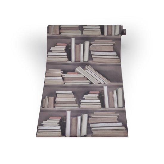 Vintage bookshelf wallpaper mineheart treniq 1 1497553820631