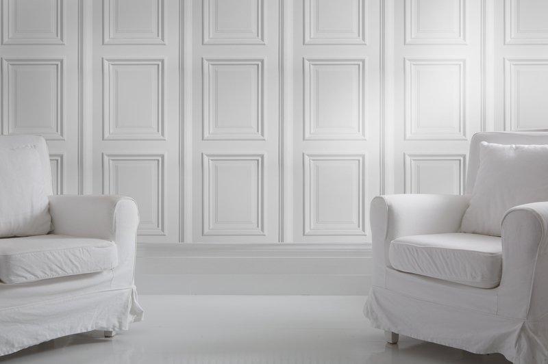 White panelling wallpaper mineheart treniq 1 1497554448455
