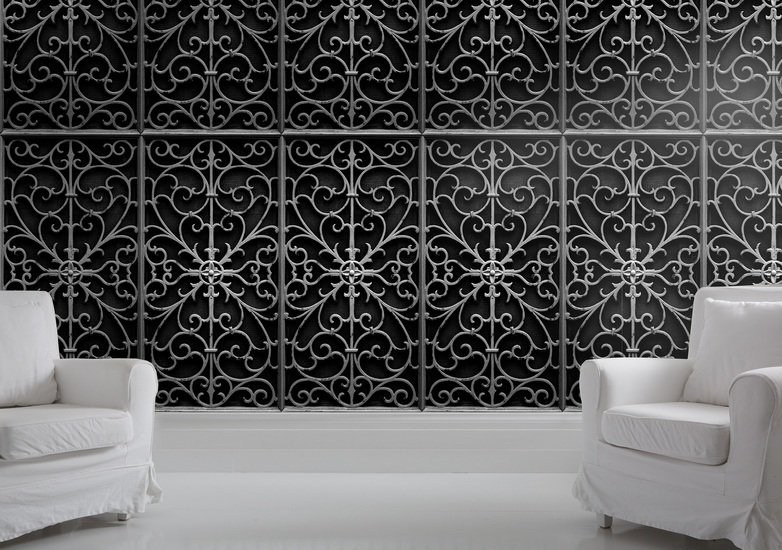 Wrought metal gate wallpaper mineheart treniq 1 1497555156290
