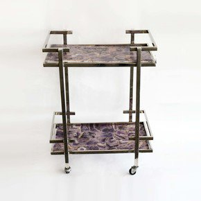 Stainless-Steel-And-Agate-Stone-Bar-Cart-_Home-N-Earth_Treniq_0