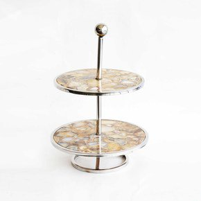 Marble Cake Stand Home Decor