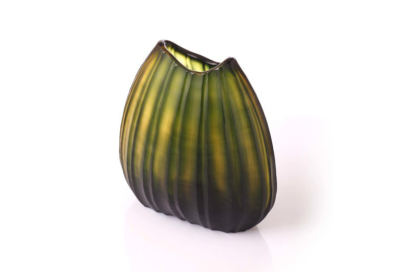 Green watermelon design vase eclat decor  treniq 1 1498044390623