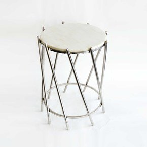 Marble-Top-End-Table_Home-N-Earth_Treniq_0