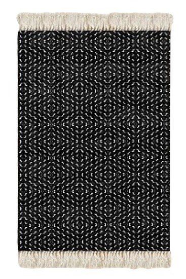Floor rug black and white print design beryl phala limited treniq 1 1498488741207